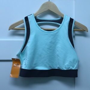 Really cute sports bra size large NWT